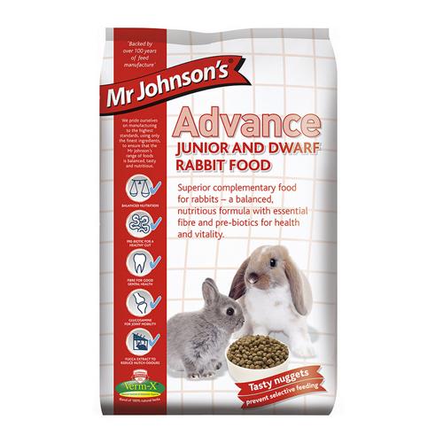 Mr Johnson's Advance Junior und Zwergkaninchenfutter