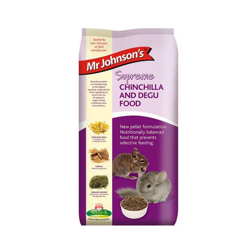 Mr Johnson's Supreme Chinchilla und Degufutter