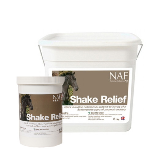 NAF Shake Relief pour Cheval