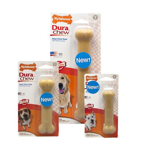 Nylabone Dura Chew Peanut Butter Hundeknochen