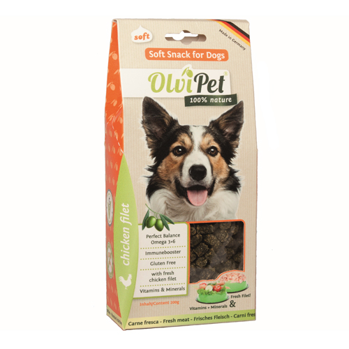 OlviPet Soft Snack Dog