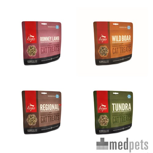 Product afbeelding van Orijen Cat Treats Freeze Dried Whole Prey