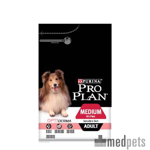 purina pro plan dog medium adult sensitive skin futter. Black Bedroom Furniture Sets. Home Design Ideas