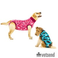 Suitical Recovery Suit for Dogs - Camouflage