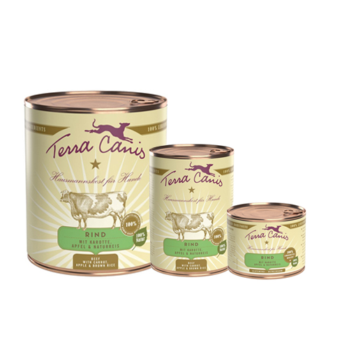 Terra Canis Classic Rind mit Karotte