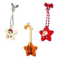 Trixie Weihnachtsspielzeug - Sterne am Tau