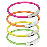 Trixie USB Flash Light Ring Collier Lumineux pour Chien