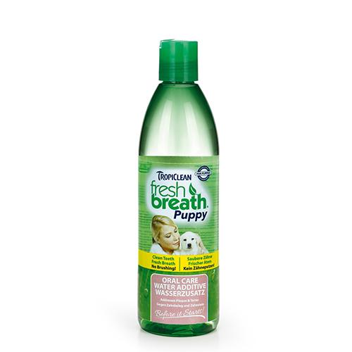 TropiClean - Fresh Breath Puppy Water Additive