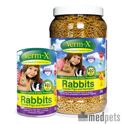 Product afbeelding van Verm-X voor Konijnen en Knaagdieren