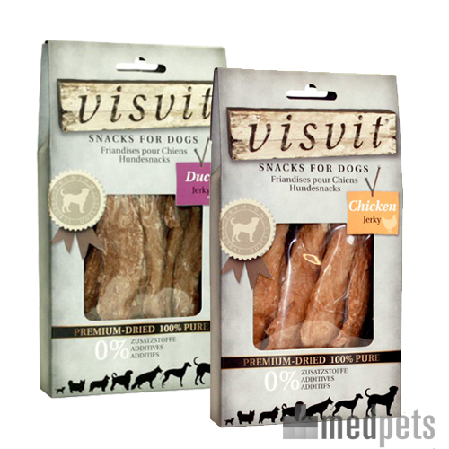 VisVit Premium Dried Snacks - Jerky Hund