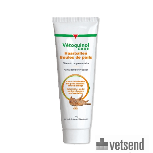 Vetoquinol Care Hairball Care Gel