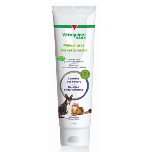 Vétoquinol Care Shampoo für fettiges Fell