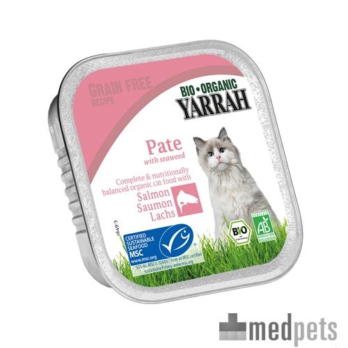 Product afbeelding van Yarrah - Paté Kat Kuipje met Zalm Bio