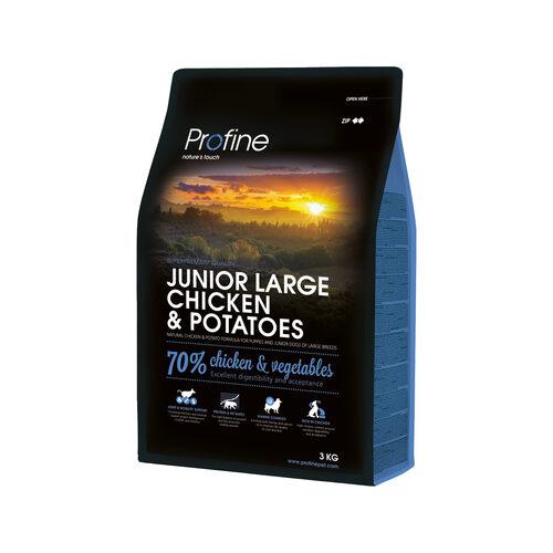 Profine Junior Large Breed - Hundefutter - Huhn & Kartoffel