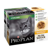 Purina Pro Plan Chat - NutriSavour - Sterilised