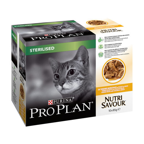 Purina Pro Plan Cat NutriSavour Sterilised