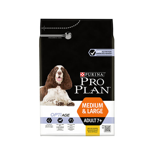 Purina Pro Plan Dog - Medium & Large - 7+ Adult