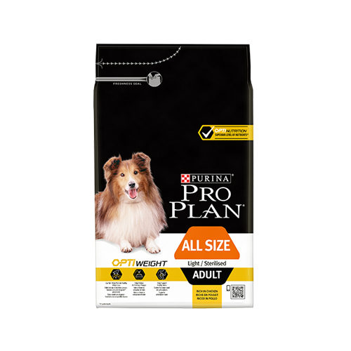 Purina Pro Plan Dog - All Size Adult - Light/Sterilised