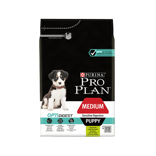 Purina Pro Plan Dog - Medium Puppy - Sensitive Digestion