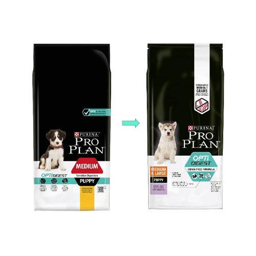Purina Pro Plan Medium Puppy - Sensitive Digestion Graanvrij