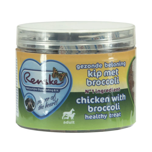 Renske Gezonde Beloning Hartjes - Kip & Broccoli
