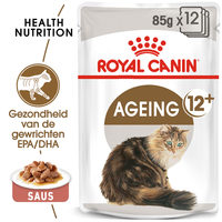 Royal Canin Ageing 12+ in Gravy - Kattenvoer
