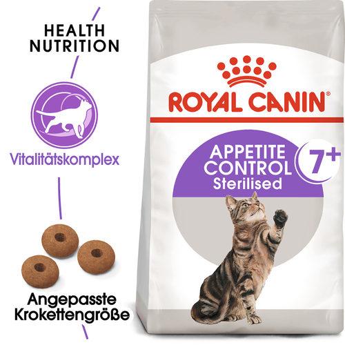 Royal Canin Appetite Control Sterilised 7+ - Katzenfutter