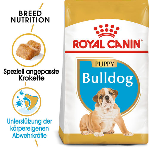 Royal Canin Bulldog Puppy - Hundefutter