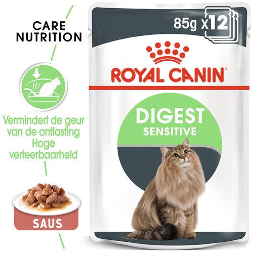 Royal Canin Digest Sensitive in Gravy - Kattenvoer