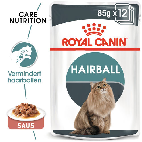 Royal Canin Hairball Care in Gravy - Kattenvoer