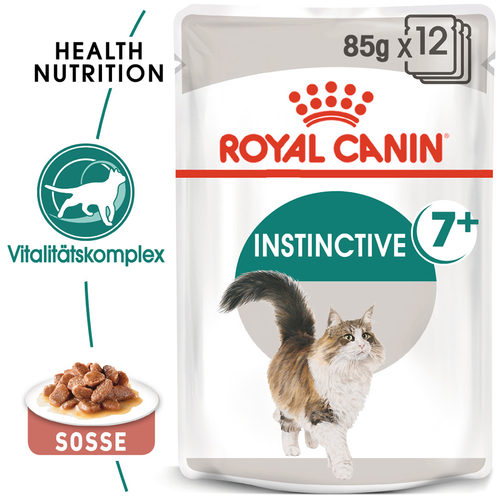 Royal Canin Instinctive 7+ in Gravy - Katzenfutter