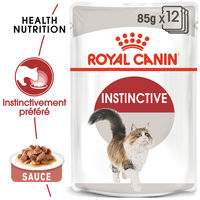 Royal Canin Instinctive in Gravy - Alimentation pour Chats