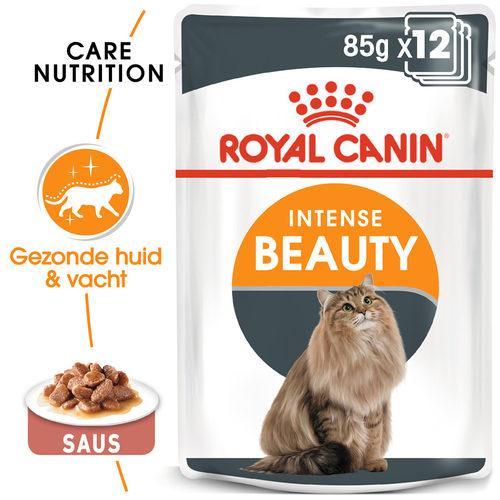 Royal Canin Intense Beauty in Gravy - Kattenvoer
