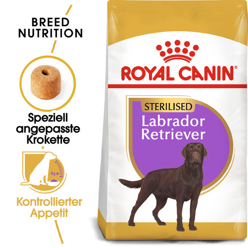 Royal Canin Labrador Retriever Sterilised Adult - Hundefutter
