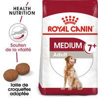 Royal Canin Medium Adult 7+ - Alimentation pour Chiens