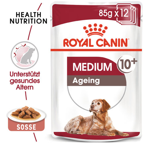 Royal Canin Medium Ageing 10+ Wet - Hundefutter