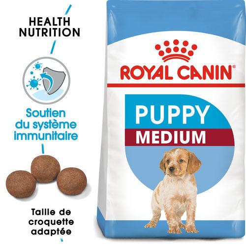 Royal Canin Medium Puppy - Alimentation pour Chiots
