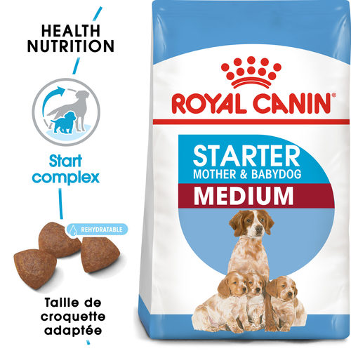 Royal Canin Medium Starter Mother & Babydog - Alimentation pour Chiens