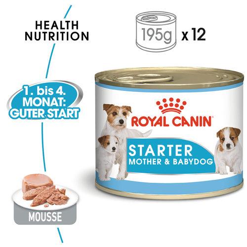 Royal Canin Starter Mousse Mother & Babydog - Hundefutter