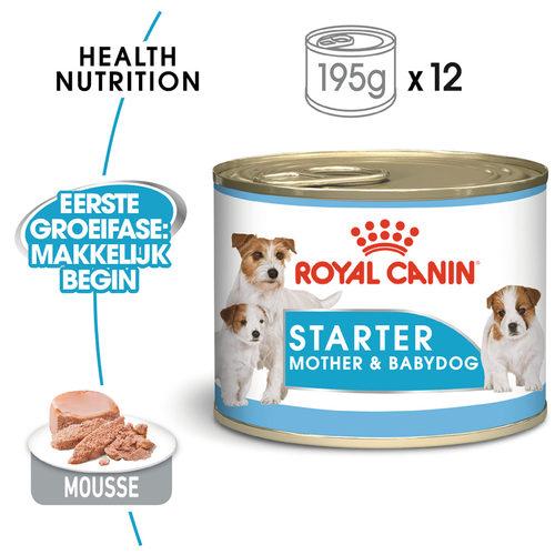 Royal Canin Starter Mousse Mother & Babydog - Hondenvoer