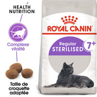 Royal Canin Sterilised 7+ - Alimentation pour Chats