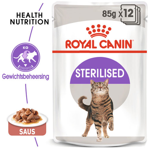 Royal Canin Sterilised in Gravy - Kattenvoer