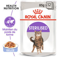 Royal Canin Sterilised in Jelly - Alimentation pour Chats