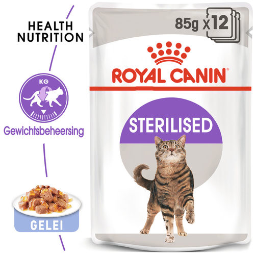 Royal Canin Sterilised in Jelly - Kattenvoer
