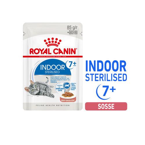 Royal Canin Sterilised Indoor 7+ in Gravy