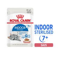 Royal Canin Sterilised Indoor 7+ in Gravy - Kattenvoer