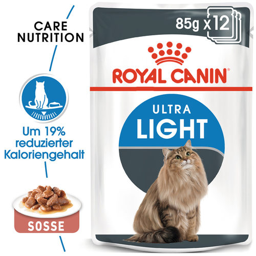 Royal Canin Ultra Light in Gravy - Katzenfutter