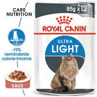 Royal Canin Ultra Light in Gravy - Kattenvoer