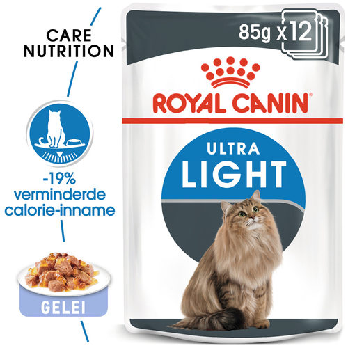 Royal Canin Ultra Light in Jelly - Kattenvoer