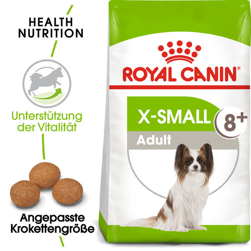 Royal Canin X-Small Adult 8+ - Hundefutter